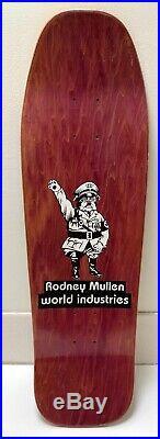 1991 Rodney Mullen Sureshot World Industries (Blind Natas 101) NOS McKee art