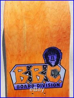 BBC Reese Simpson Reeses cup 1990 skateboard deck rare vintage NOS Bad Boy Club