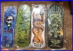 Huge Skateboard Collection 50+ Boards Powell Peralta Santa Cruz Sims Tracker Lot