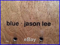 Jason Lee Blue Skateboards American Tragedy 90s Slick Rare Vintage World Blind