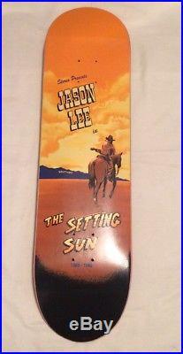 Jason Lee Stereo Skateboards 90s Vintage Rare Retirement Setting Sun Model