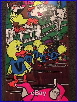 Mike Vallely Barnyard Skateboard Deck 1989 WORLD INDUSTRIES POWELL Peralta