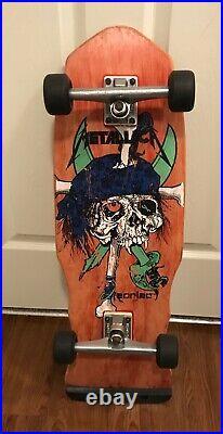 OG Vintage 1988 ZORLAC Pirate skateboard