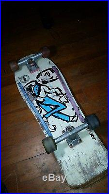 RARE VINTAGE 80s GS Neil Blender Complete Skateboard Deck Nostalgic Classic