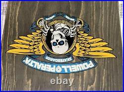 Rare 1989 Tony Hawk / Hawk Powell Peralta Vintage Skateboard