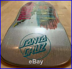 Santa Cruz Jeff Kendall Pumpkin Skateboard Deck Old School Shape 30 Anniversary