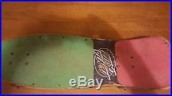 Santa cruz vintage jeff kendall complete 80's skateboard