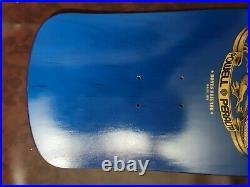 Tony Hawk Powell Peralta Bones Brigade Skateboard Deck Reissue Blue 2nd series