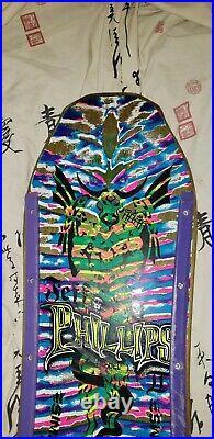 UPDATE Jeff Phillips Sims Vintage Skateboard Tie Dye pro model 1987damn im old