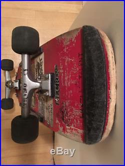 Vintage 1983 Skateboard Santa Cruz Powell Peralta Independent Trucks punk sticke