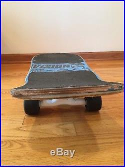 Vintage 1985 Vision Mark Gonzales Pro Model Skateboard with Gullwing Trucks&wheels