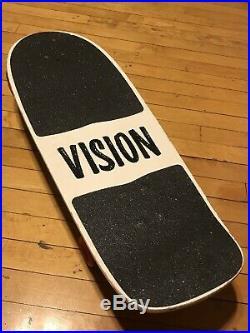 Vintage 1985 Vision Shredder skateboard Complete Independent Trucks Deck
