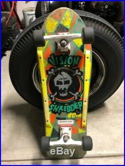 Vintage 1988 Vision Shredder Too Skateboard Complete