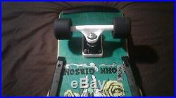 Vintage ALVA John Tex Gibson Complete Skateboard with Powell Peralta Rat Bones