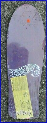 Vintage John Lucero Skateboard Deck Street Thing 2 1989, NOS, Santa Cruz