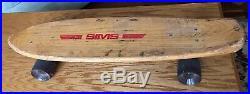 Vintage Original Dogtown Era Sims Skateboard, Pure Juice Wheels, Bennet Trucks