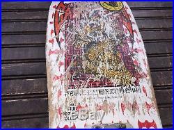 Vintage Powell Peralta Steve Cabalerro Bats 1980's Complete Skateboard