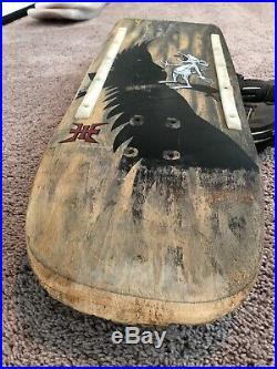 Vintage Powell Peralta Tony Hawk Shotgun / Machine Gun Mouse Rare Deck