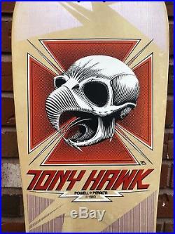Vintage Powell Peralta Tony Hawk Skateboard XT Dragon Top Full Size