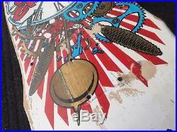 Vintage Santa Cruz Claus Grabke Skateboard Deck