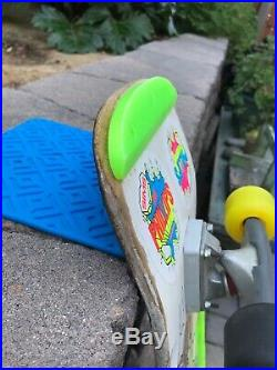 Vintage Sims Jeff Phillips skateboard Santa Cruz Powell Peralta sma