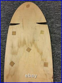 Vintage Skateboard Dogtown Jim Muir deck Template, Powell Sims G&S Alva