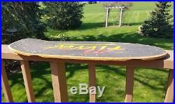 Vintage Skateboard deck Alva Tri-logo late 70's old school cool