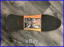 Vintage g&s ken fillion skateboard 80s