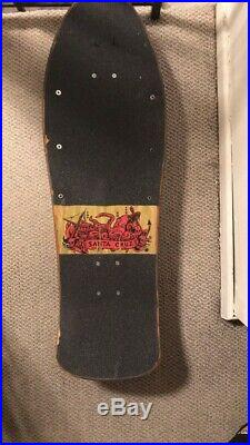 Vintage skateboard Santa Cruz