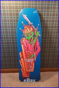 Vintage skateboard deck NOS Uncle Wiggley John Shultes OG 80's old school