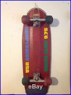 Vintage skateboard kryptonics kbeam Malba Micke Alba 1979