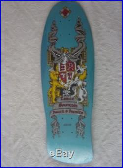 Vintage skateboard table (old new stock) Powell Peralta Mint Lance Mountain