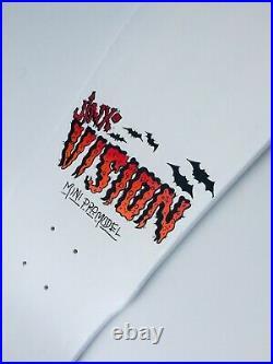Vision Jinx 80s Old school 1987 Marty Jimenez Reissue Skateboard Mini 9.5 Pro