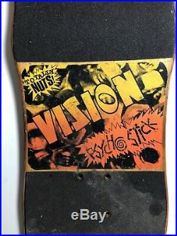 Vision Psycho Stick Totally Nuts Skateboard