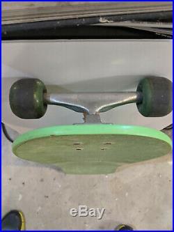 Zorlac Craig Johnson, VG+shape skateboard Independent Kryptonics Vintage Reissue