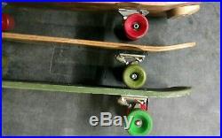 ÷sims÷ Lonnie Toft, G&s Pine Design & Kryptonics Vintage Complete Skateboards